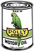 PLÅTSKYLT POLLY GAS OIL CAN